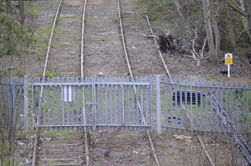 Pleck Junction gates
