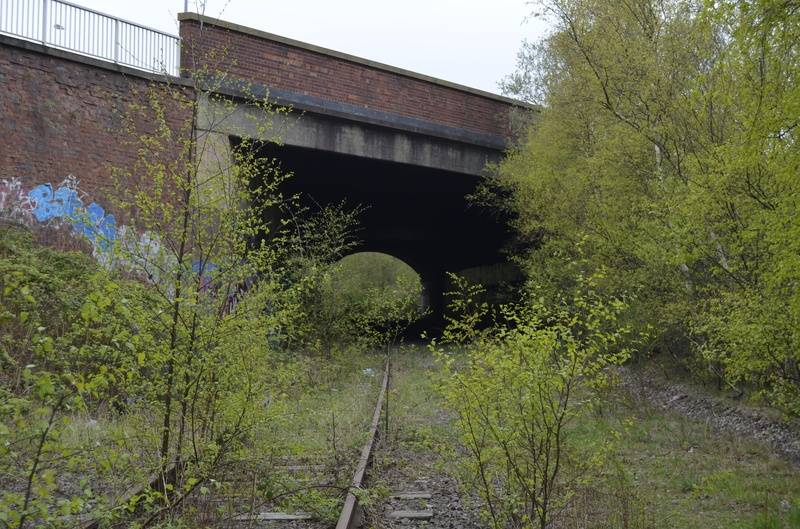 A5 tunnel, in the direction of Brownhills