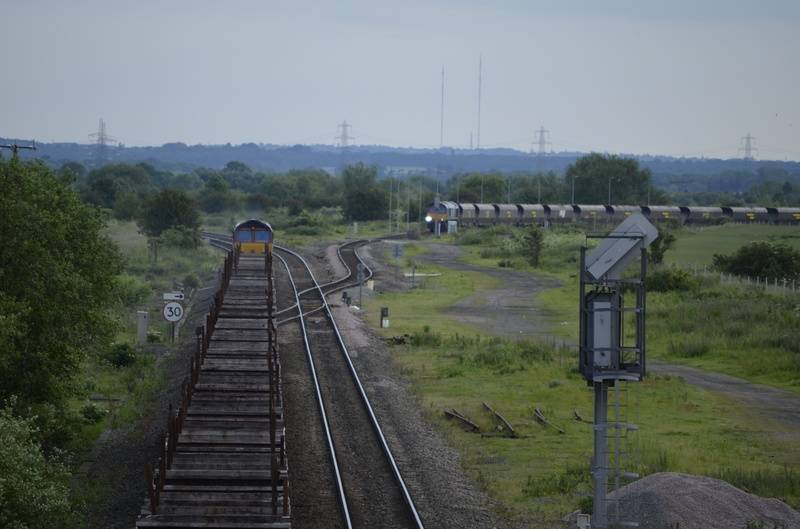 Wichnor Junction in the distance