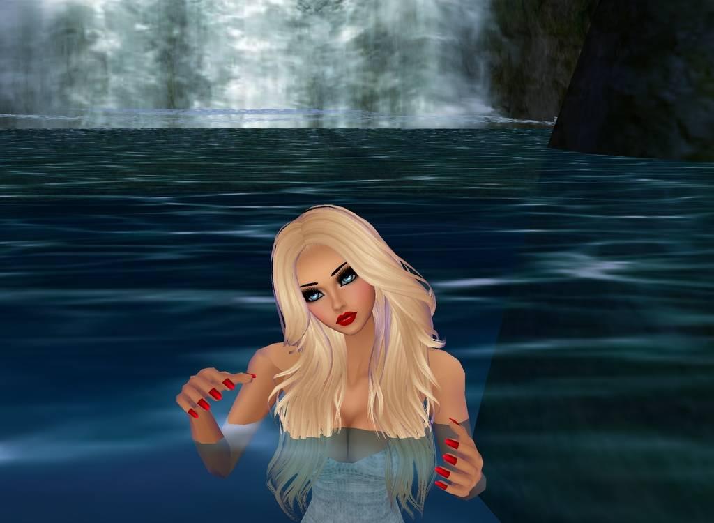 Waterfall Angel