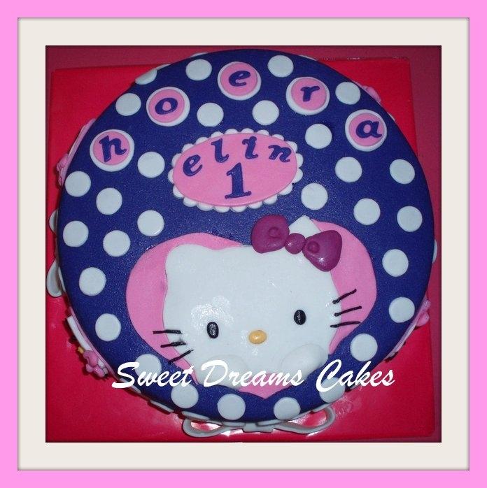 Hello Kitty polka dots