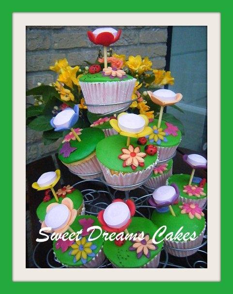 cupcakes met lolly