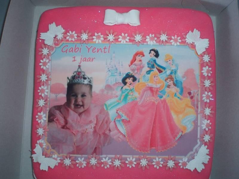 foto taart princesen