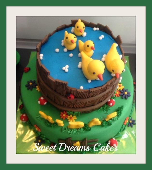 eendjes taart