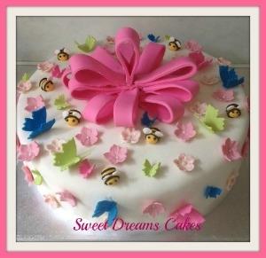 1e communie taart