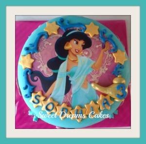 princess Yasmine taart