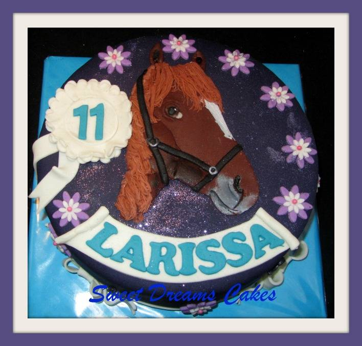 paard taart (puzzelplaatje)