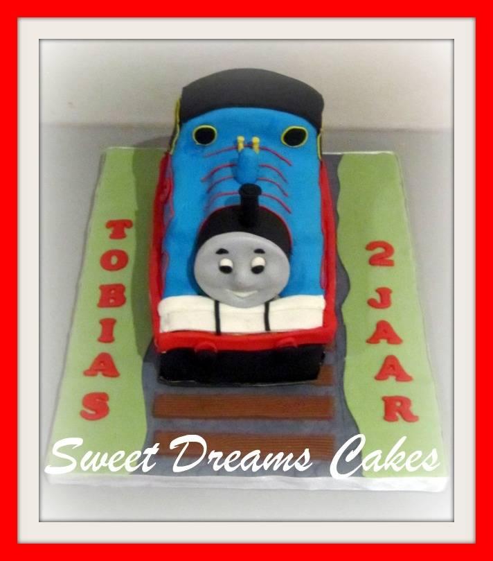 Thomas 3 D taart