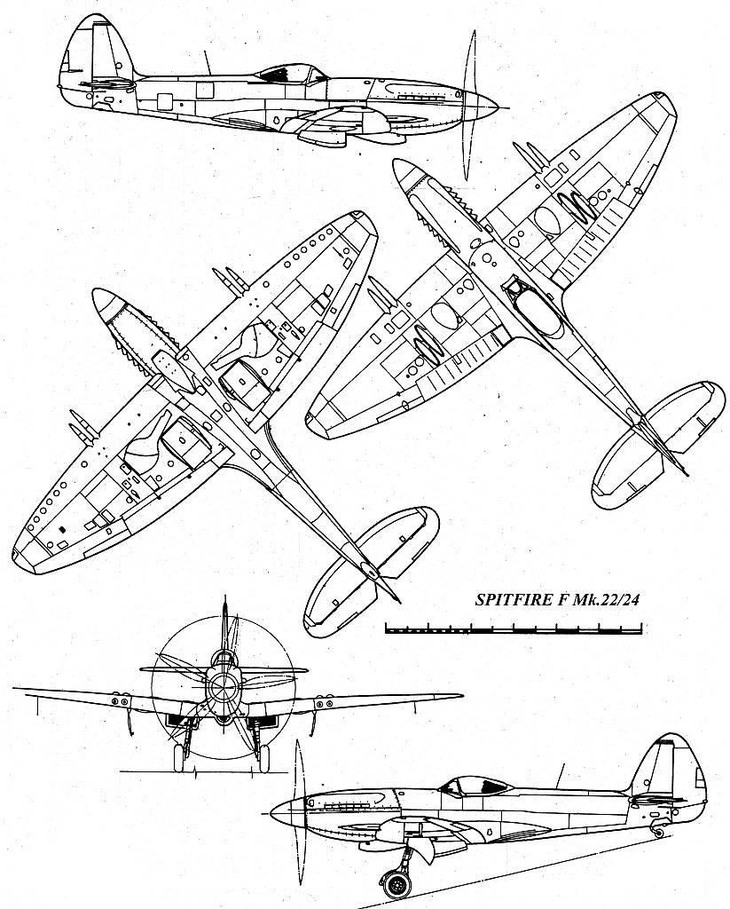 Supermarine Spitfire Mk22