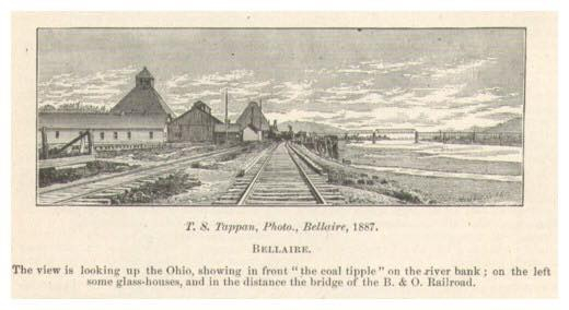 The land and railroad in from of 1699. This get us closed to a date to proved that the Underground Railroad movement happened on this land and in The Bellaire House.