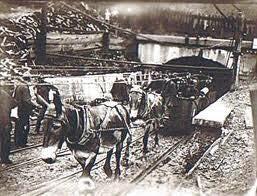 The coal mine portal