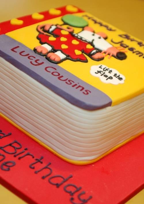 Maisy book cake