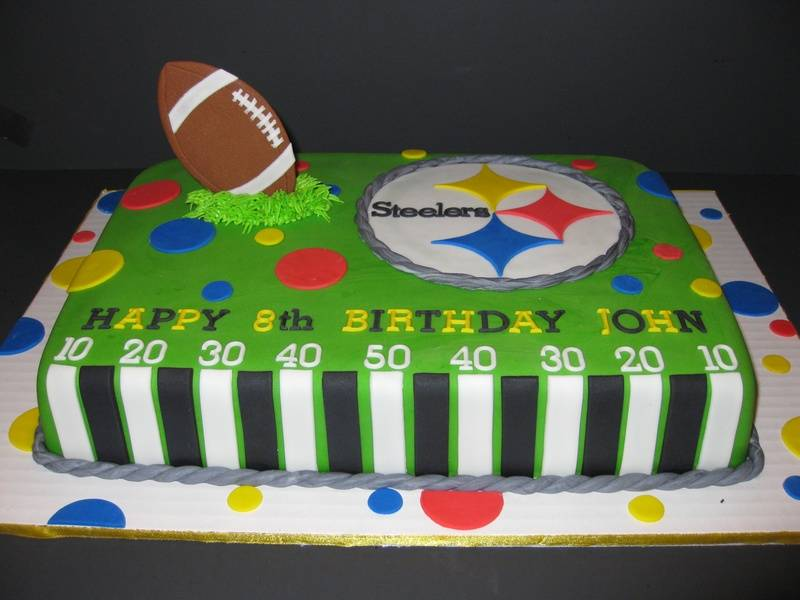 John's Steelers Birthday Cake