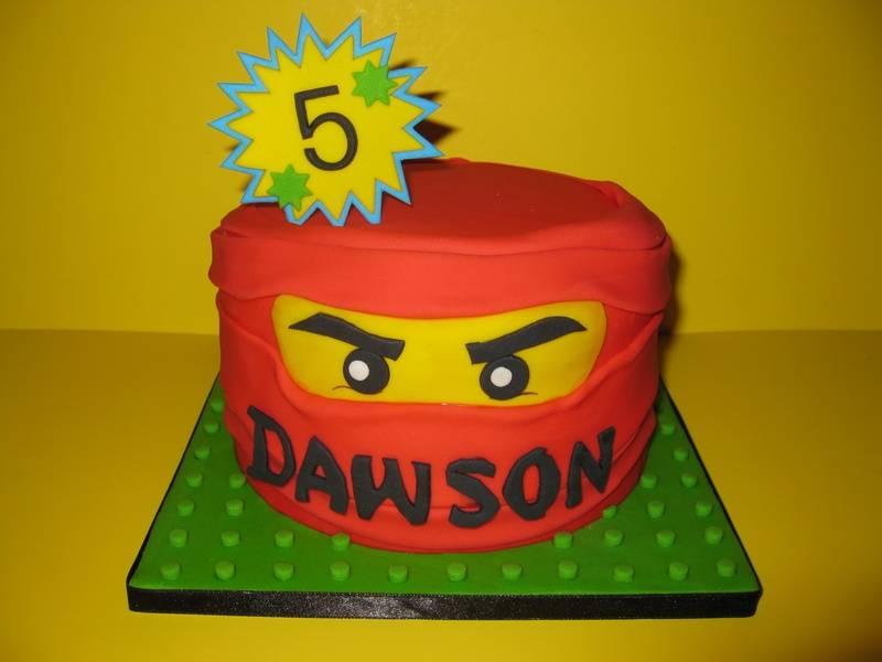 Dawson's Ninjago/Lego Cake