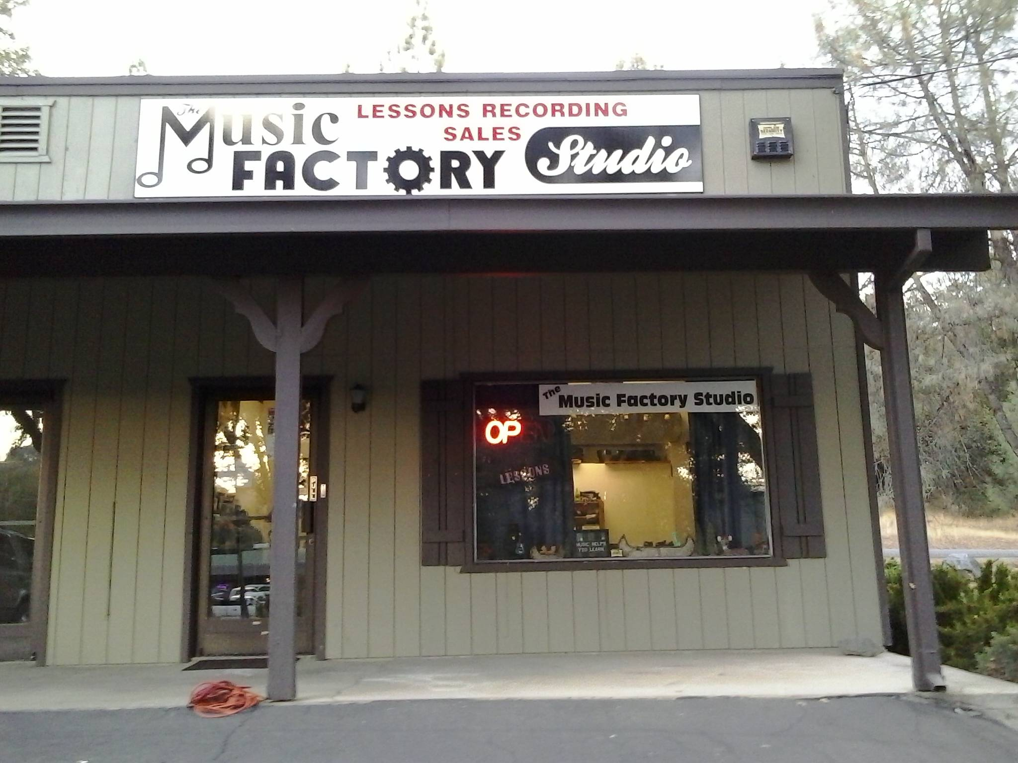 The Music Factory Studio, 20071 Highway 108, Suite C, Sonora, California, 95370