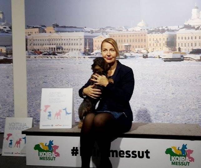 JUNIOR WINNER 2015 Tiny Trotter's Heart Of Minuet judge Ann Karlstrom (SWE)