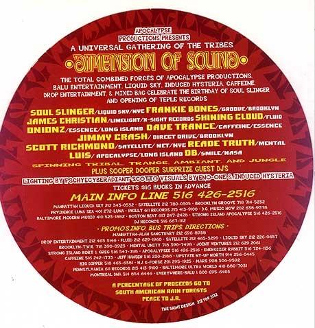 Dimension Of Sound