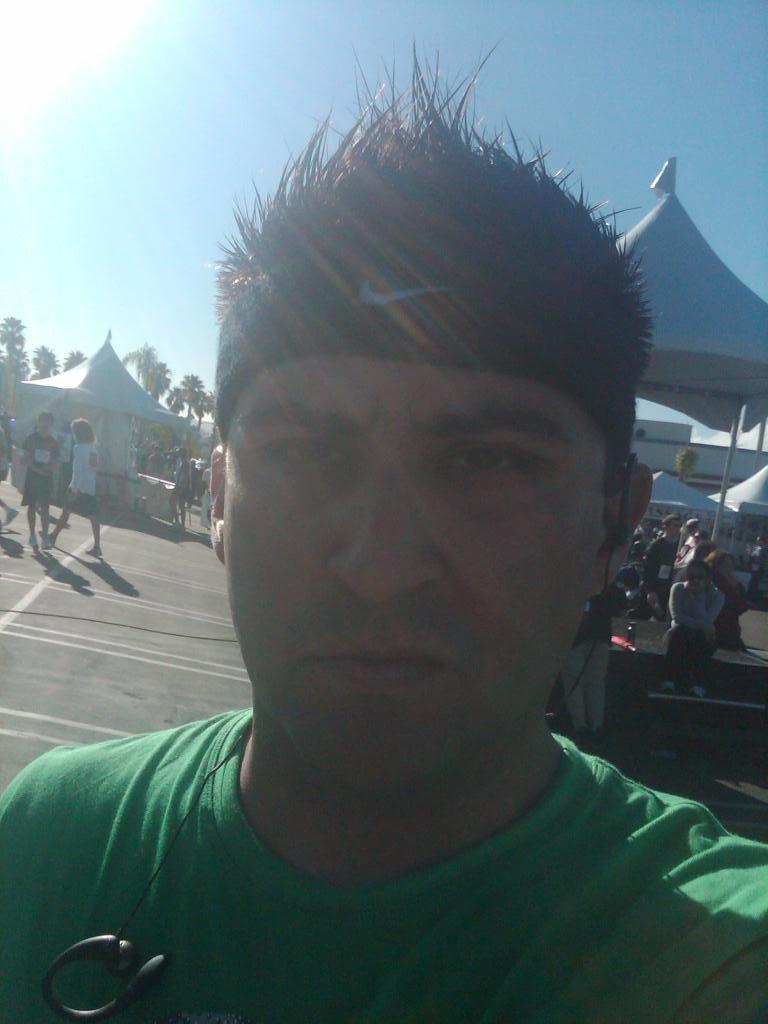 Pre-Race Face - Focused