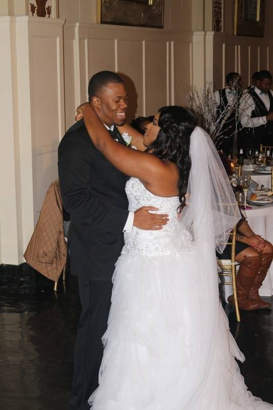 Wedding and Reception at The Cadre, Memphis, TN