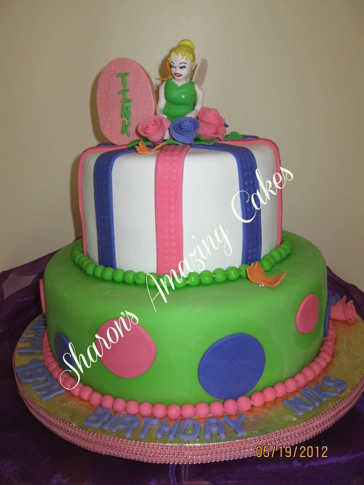 CAKE 39A1 - Tinkerbell Cake 2