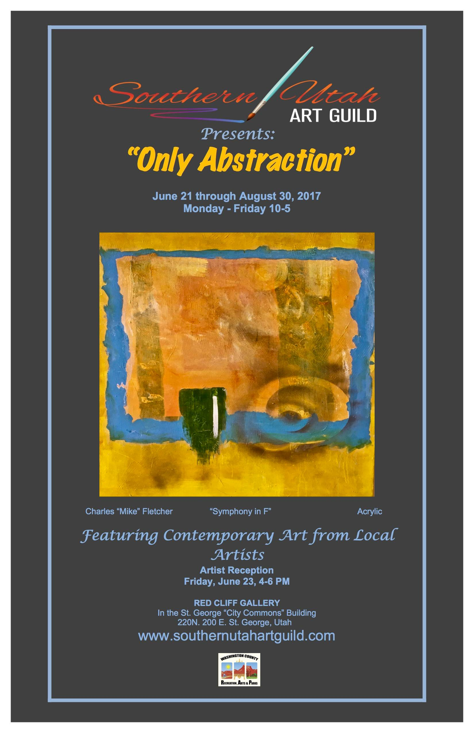 Only Abstraction Show Poster