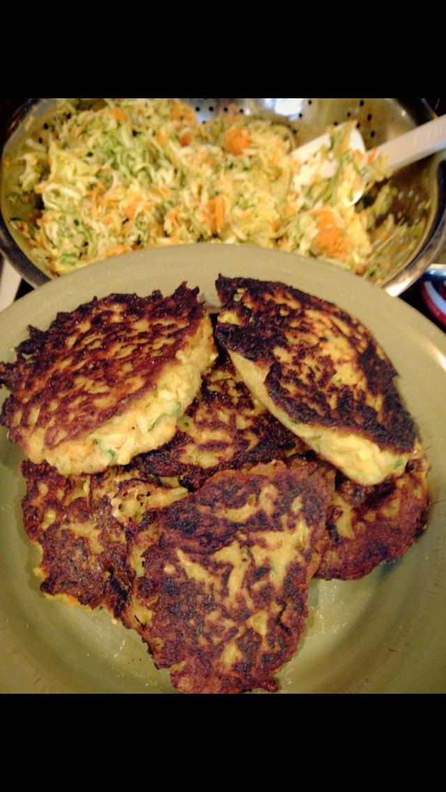 Zucchini Veggie Pancake