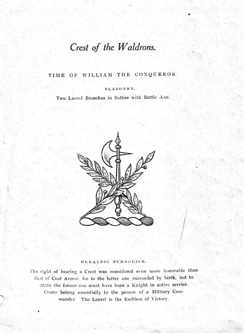 Waldron Crest