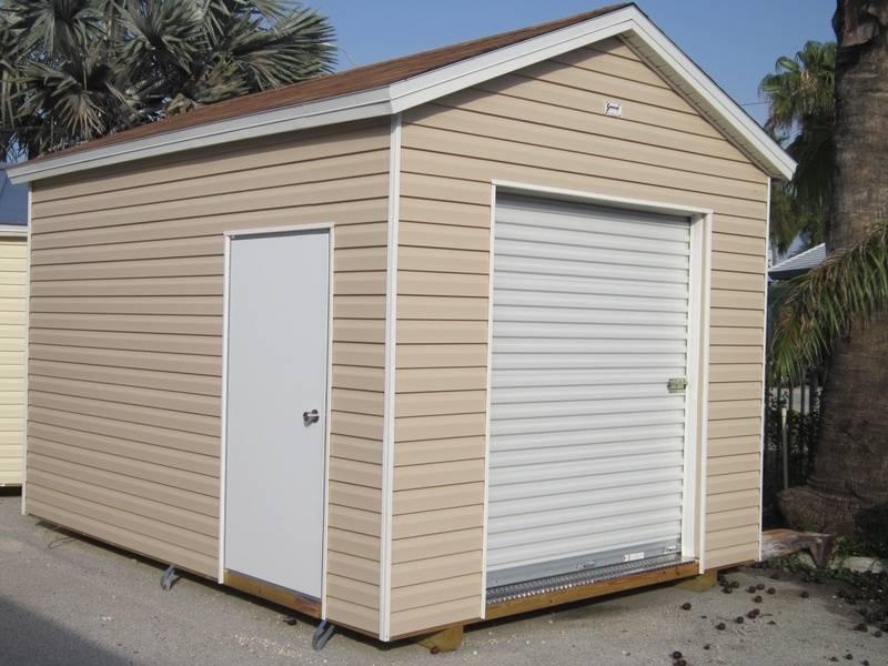 10x14 with 8 foot walls / Garage doors / workshop