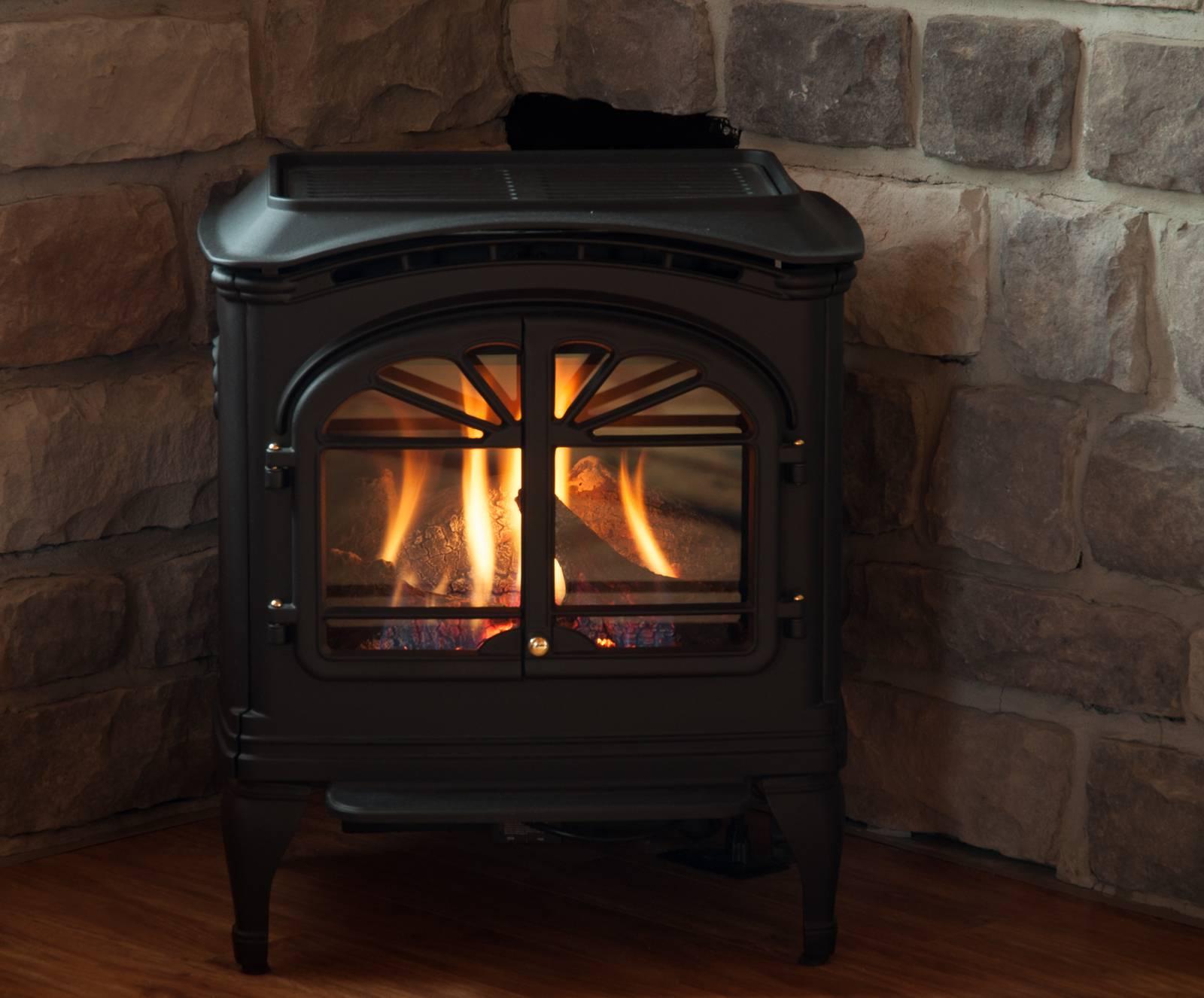 Gas Franklin Fireplace