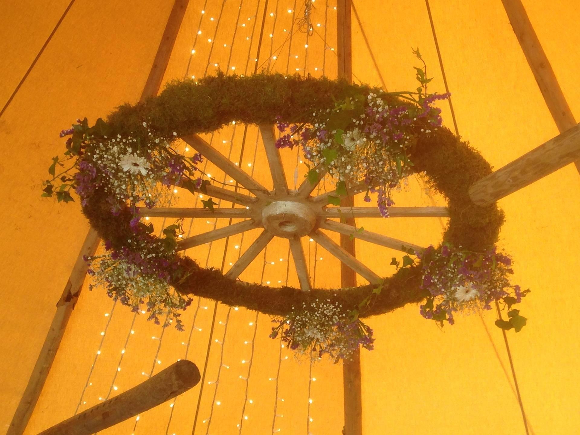 Decorative Wagon Wheel