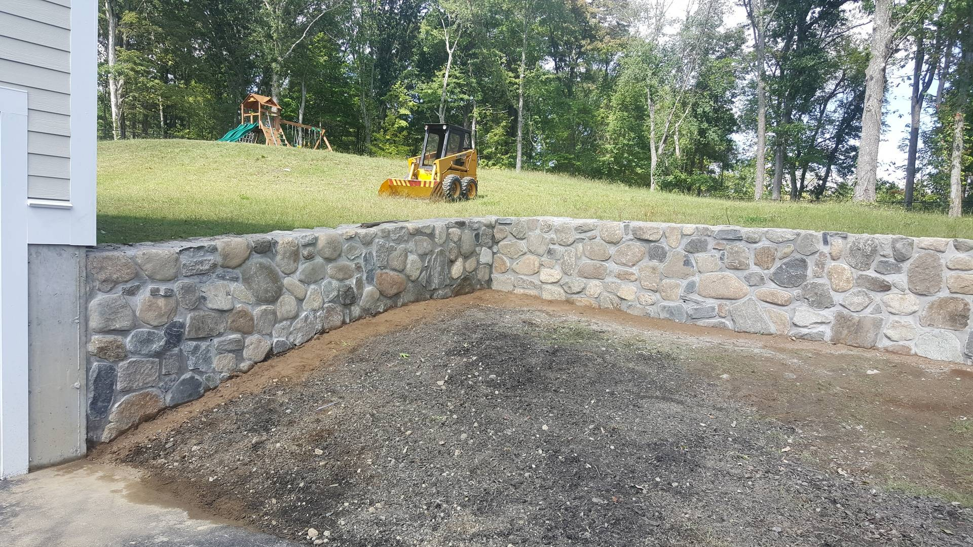 Natural Landscape Retainer Stone Wall