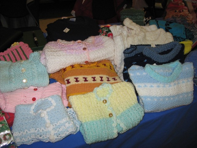 Knitwear from the sewing circle