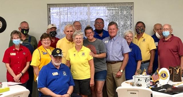 2020- Lions Club Volunteers who helped