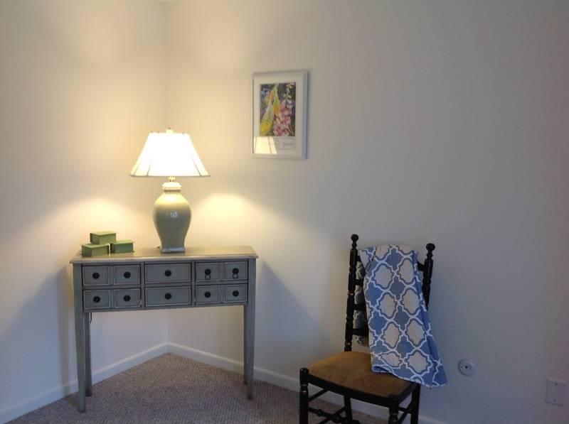 Furnishings in Master Bedroom