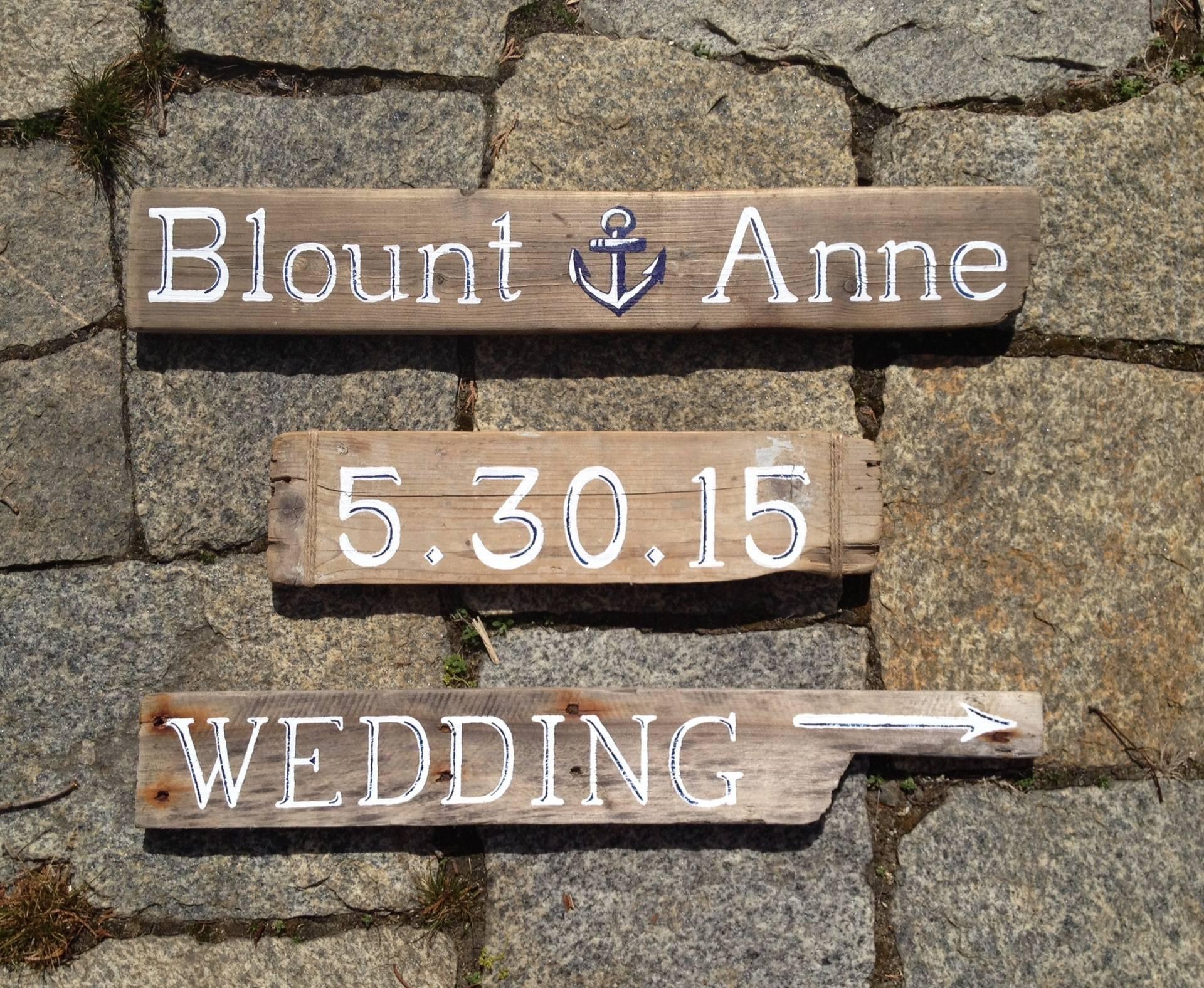 #WeddingDaydirectionalsigns