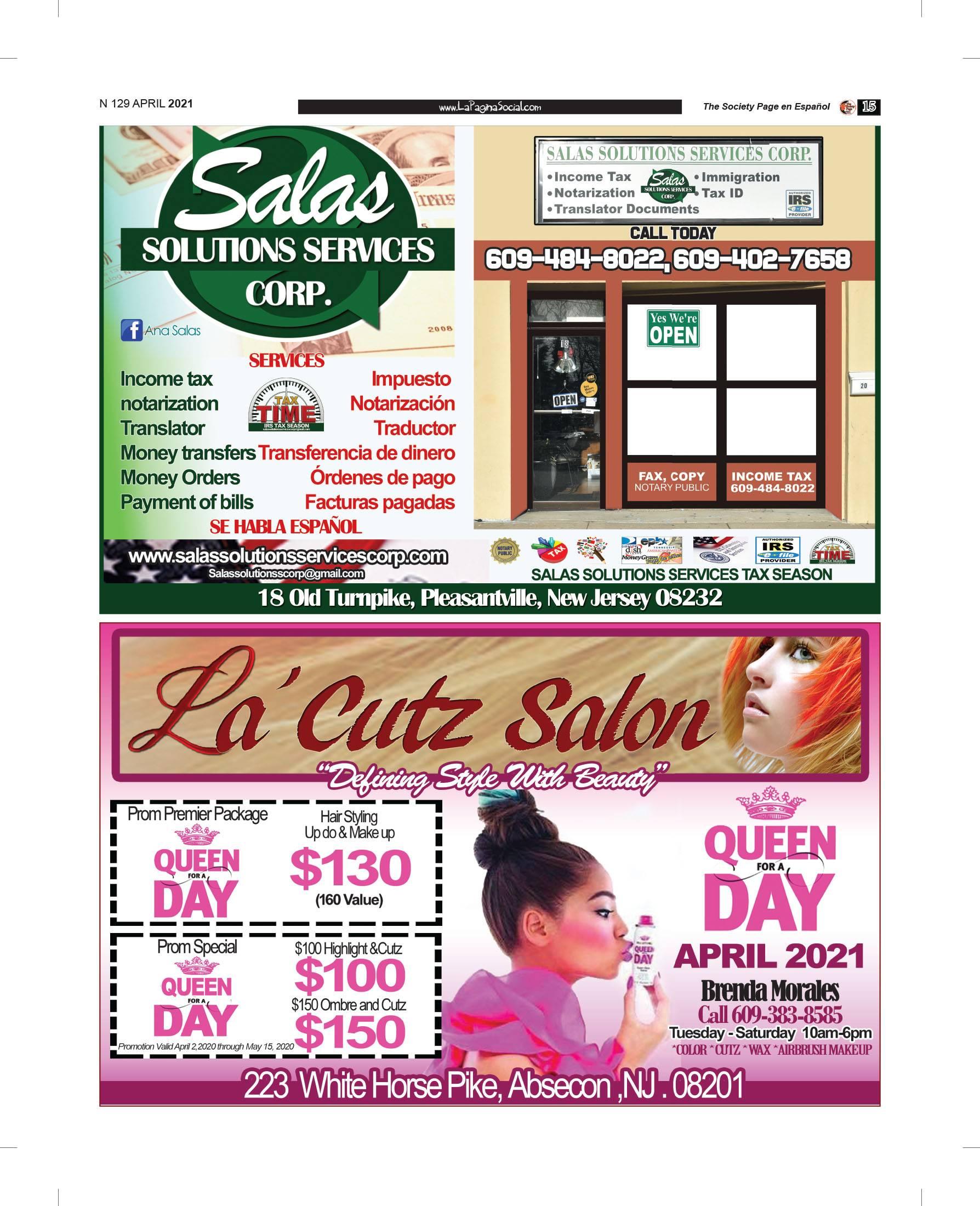 #SalasSolutionsServices #LaCutzSalon