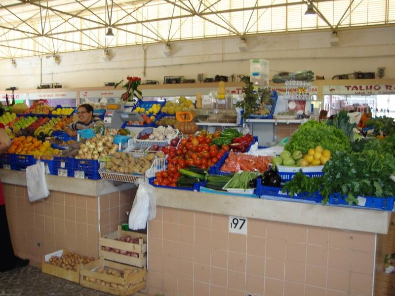 Fruit and Vegetables at the Market