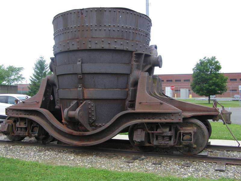 Iron Waste Slag Car