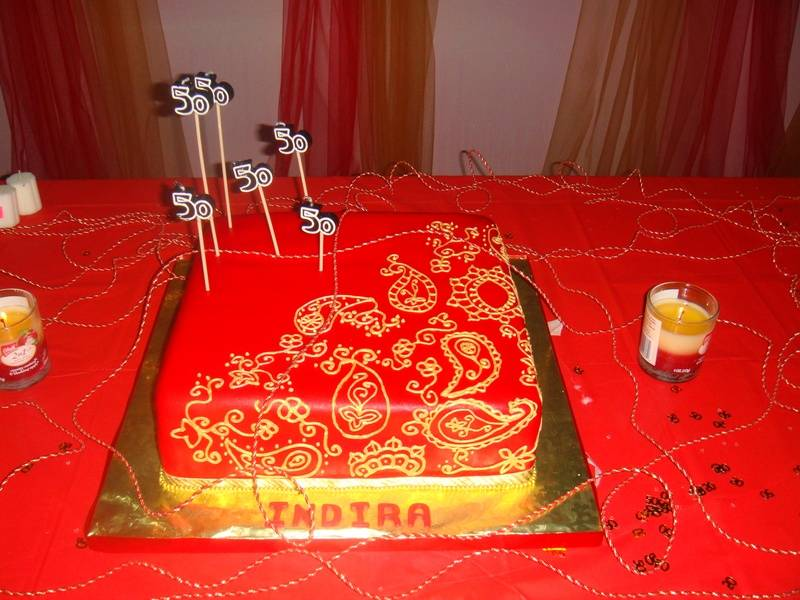 CAKE 9A2- Mehindi Cake