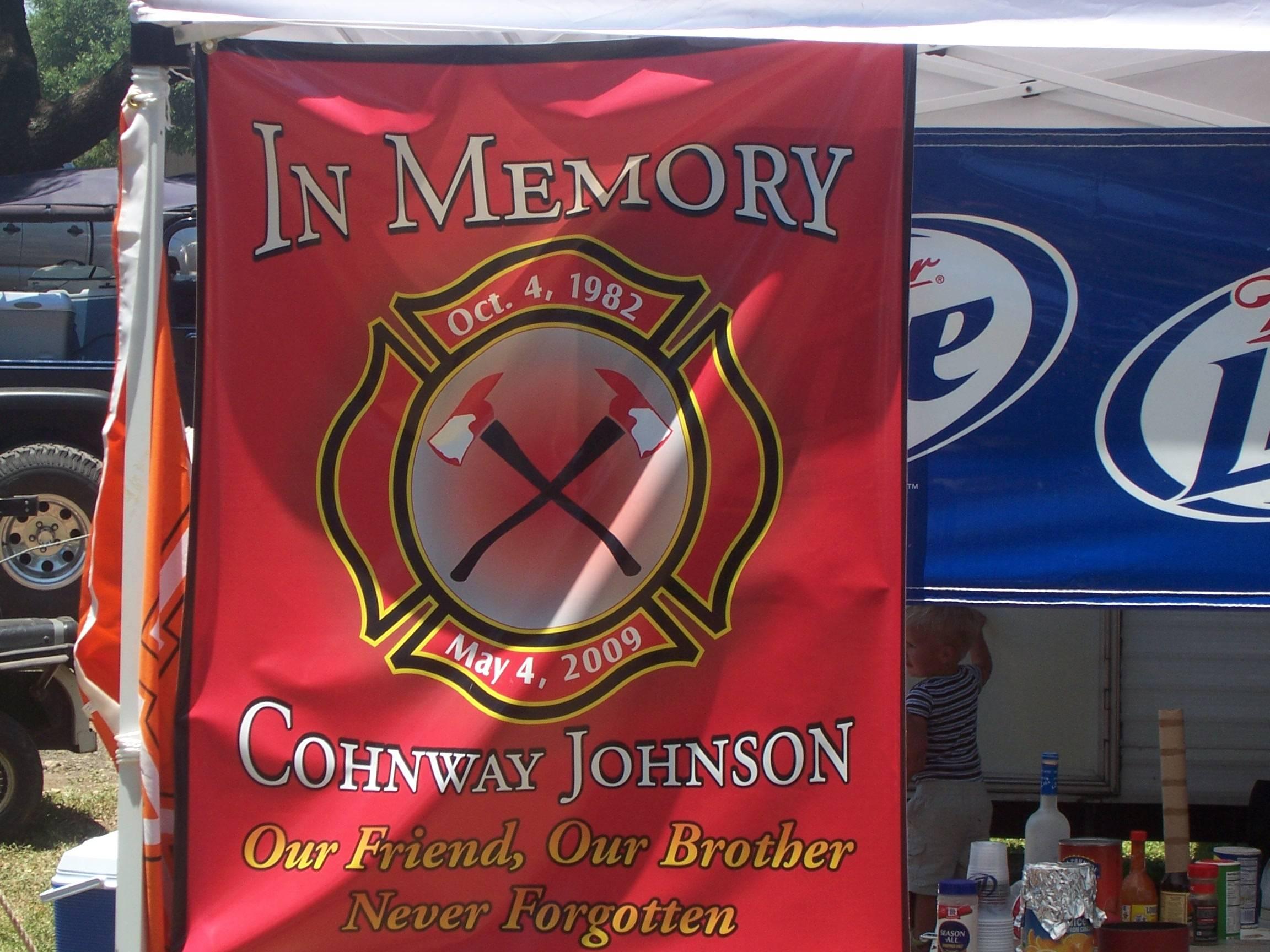 In Memory Banner