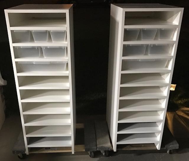 Twin v15,v18, and v35s Combo Rack