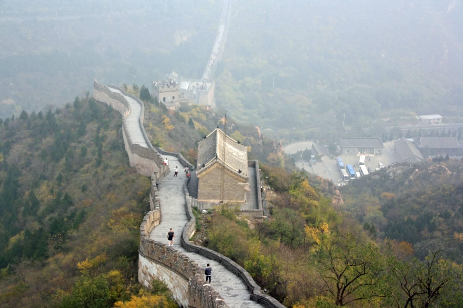 Great Wall at Juyong Pass near Beijing