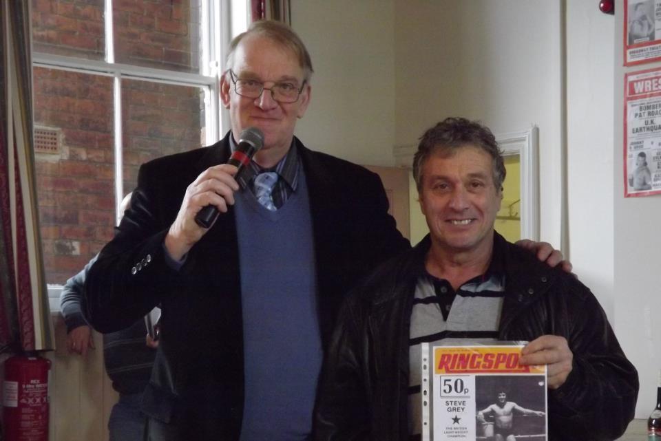 Gordon Pryor, Steve Grey