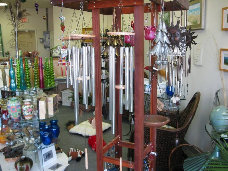 Garden ornaments, hummingbird feeders