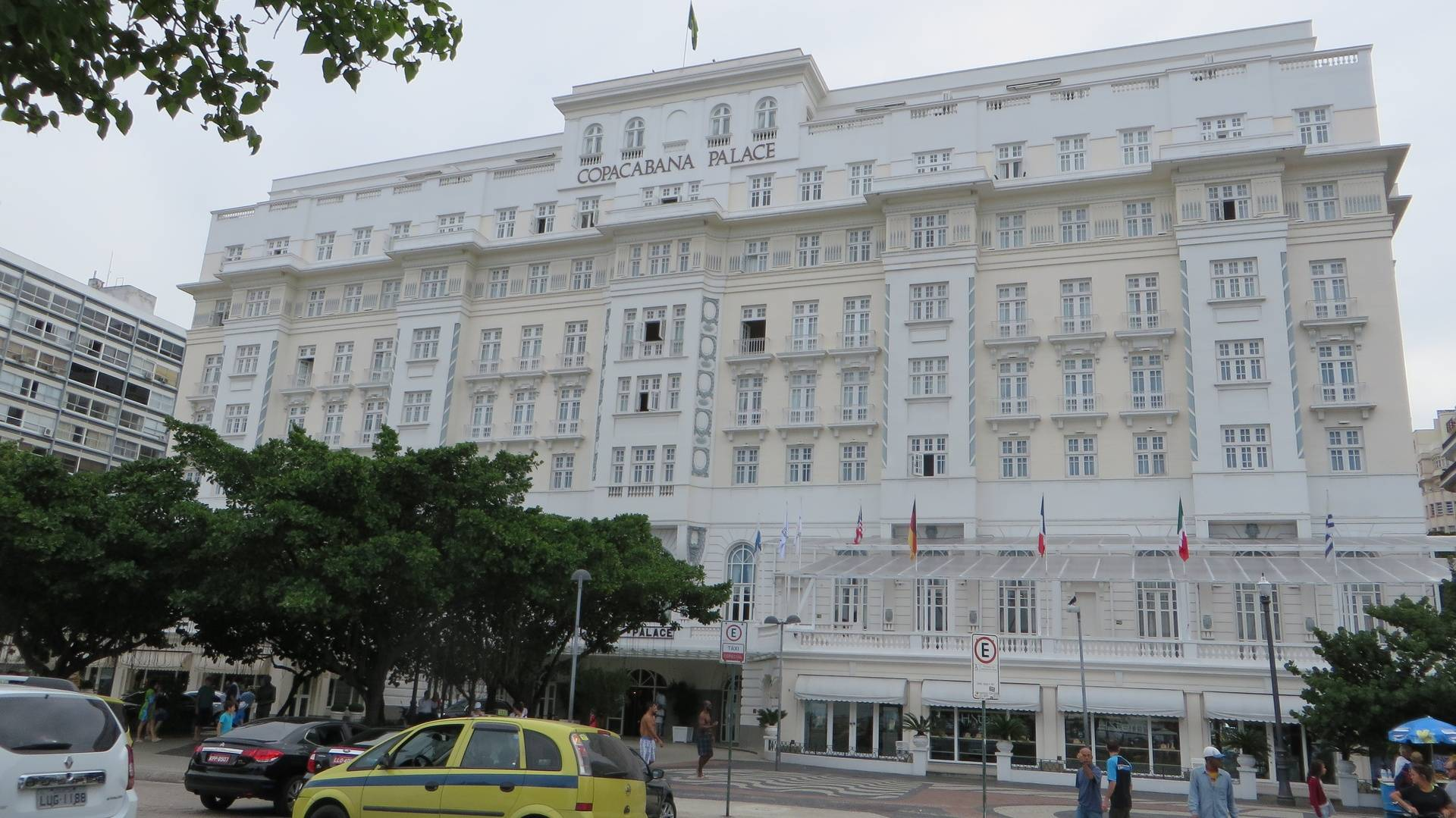 Copacabana Palace Hotel in Rio