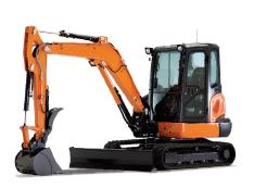 Kubota Mini and Mid Excavators