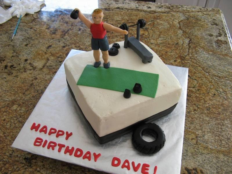 Fitness Trainer cake