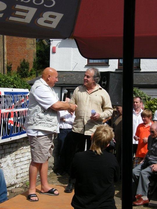 Mel Stuart and 'Judo' Al Hollamby