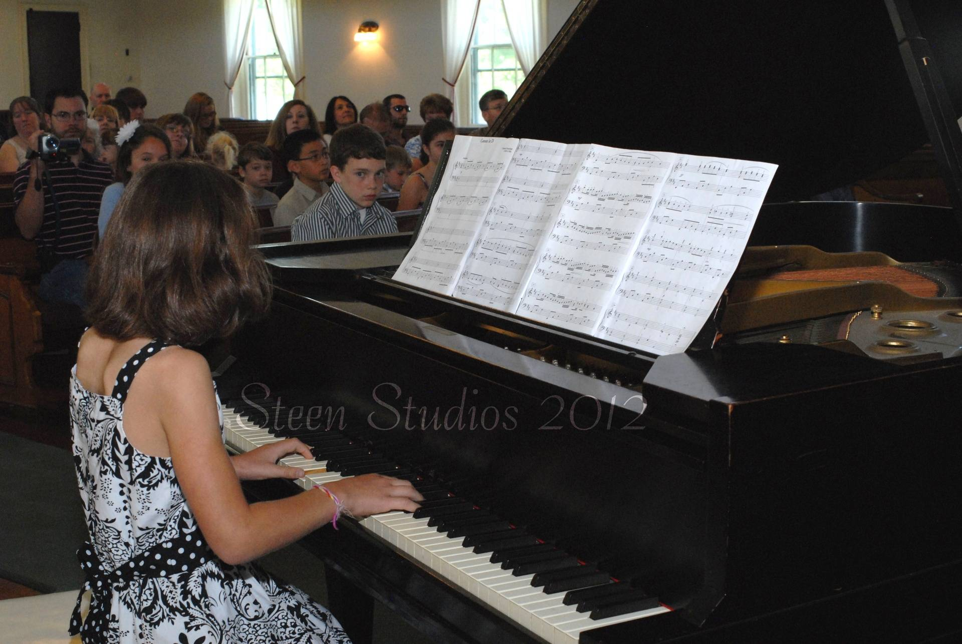 Brianna plays Pachelbel's Canon in D