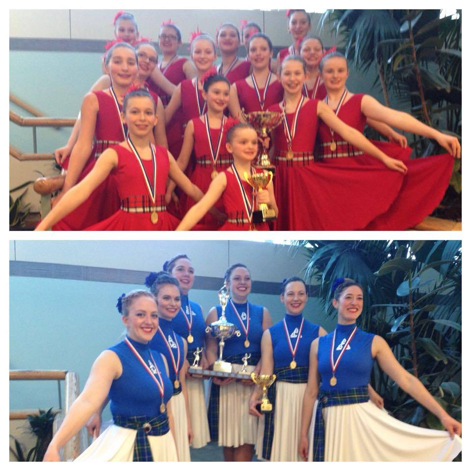 2015 - Two Winning Groups!